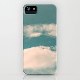 Fantasy and vintage dynamic cloud iPhone Case