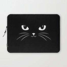 Cute Black Cat Laptop Sleeve