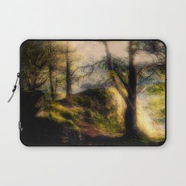 Misty Solitude, The Way Through The Woods Laptop Sleeve