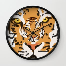 2Tigers Wall Clock