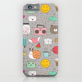 Animals and objects  iPhone Case