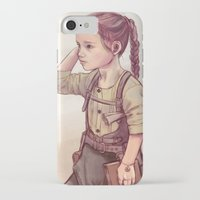 megan lara iPhone & iPod Cases featuring Lara by Sheharzad