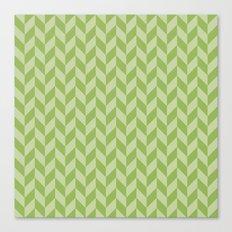 Flag greenery Canvas Print
