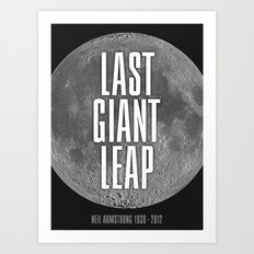 Last Giant Leap Art Print