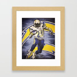 CHARGERS Framed Art Print
