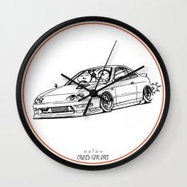 Crazy Car Art 0193 Wall Clock