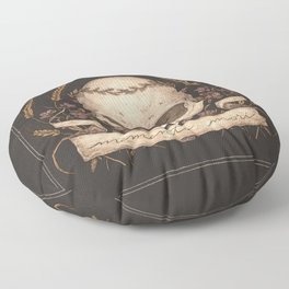 Memento Mori Floor Pillow