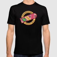 Hoverboard - Back to the future Black Mens Fitted Tee SMALL