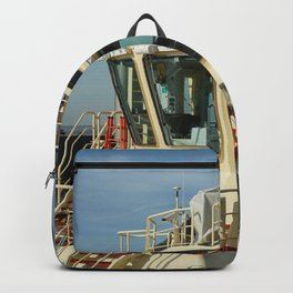 There is also color harmony under tugs Backpack