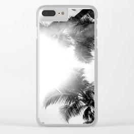 Palm Sunshine Clear iPhone Case