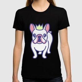 King Louie the Frenchie Cartoon T-shirt