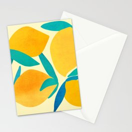 Mangoes - Tropical Fruit Illustration Stationery Cards