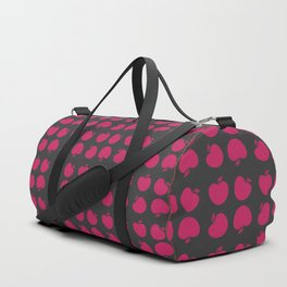 Giant Bright Pink Apple Duffle Bag