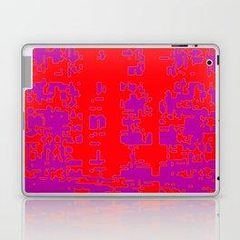jitter, red violet, 3 Laptop & iPad Skin