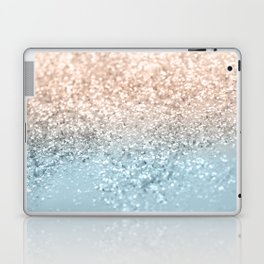 Blush Glitter Dream #2 #shiny #decor #art #society6 Laptop & iPad Skin