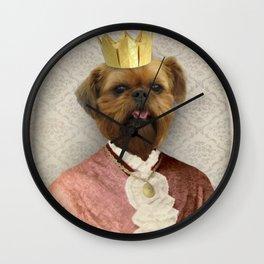 Queen of Brussels Wall Clock