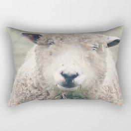 Smiley Sheep Rectangular Pillow