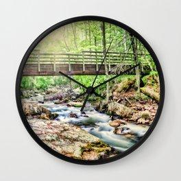 Bridge to Nature Wall Clock