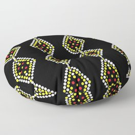 Manobo Print  Floor Pillow