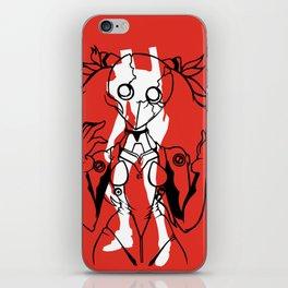 I don't wanna die iPhone Skin