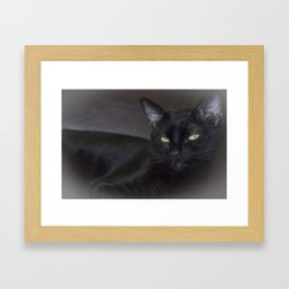 Black Panther Framed Art Print
