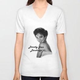 Diva Legacy Dorothy Jean Dandridge Unisex V-Neck