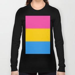 Pansexual Pride Flag Long Sleeve T-shirt