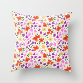 Spring days in Queensland Throw Pillow