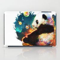 pandas iPad Cases featuring pandas dream by ururuty