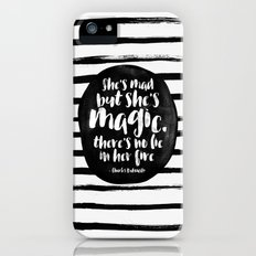 She's mad but she's magic Slim Case iPhone (5, 5s)