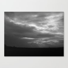 The Heavens are Soon to Open Canvas Print