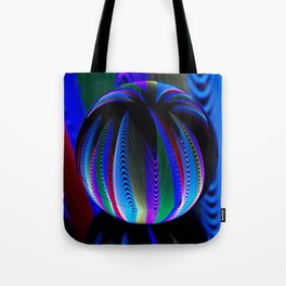 Colours in the crystal ball Tote Bag