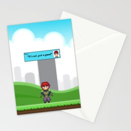 It's not just a Game! [Male Version 1] Stationery Cards