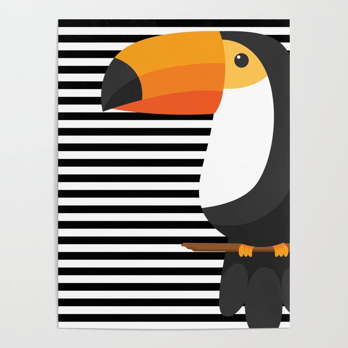 TOUCAN tropical toucans Poster