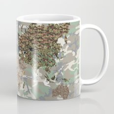 CAMO WORLD ATLAS MAP (camo) Mug