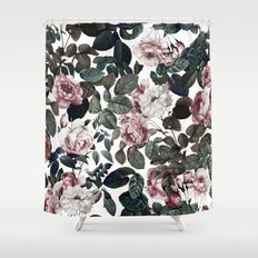 Vintage garden Shower Curtain