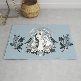 Stevie Nicks Angel Of Dreams Rug