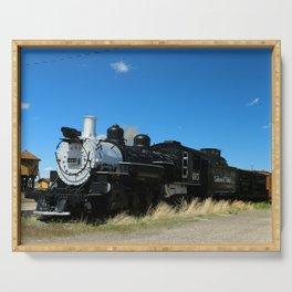 Denver & Rio Grande Steam Engine Serving Tray