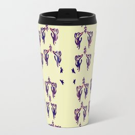 purple cats Travel Mug