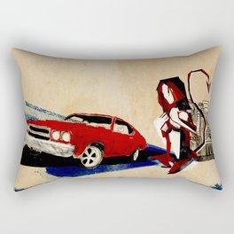If I Had A Tail Rectangular Pillow
