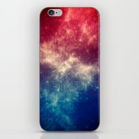 the moon iPhone & iPod Skins featuring Moon by Victor Vercesi