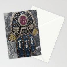 Jewish Hamsa Stationery Cards