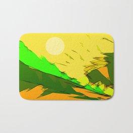 Berglandschaft. Bath Mat