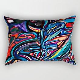 Water Colour Painting Rectangular Pillow