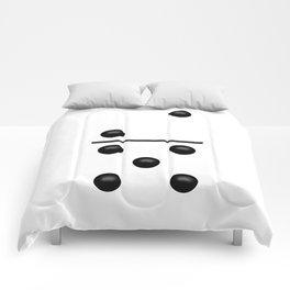 White Domino / Domino Blanco Comforters