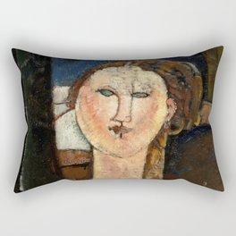 "Amedeo Modigliani ""Antonia"" Rectangular Pillow"