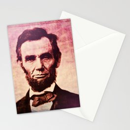 Lincoln: The Ballot is Stronger than the Bullet Stationery Cards