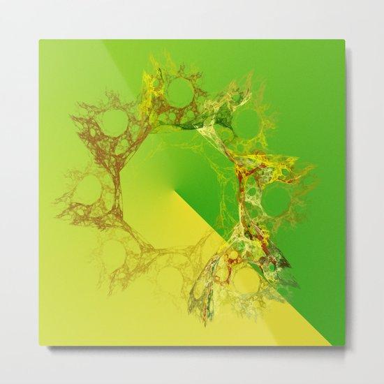 organic creations Metal Print