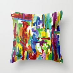 There is less to say Throw Pillow