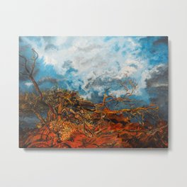 Nature's Fury Metal Print